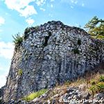 Анакопия крепость на горе