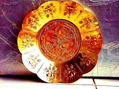 Домашний натюрморт.Царская тарелка