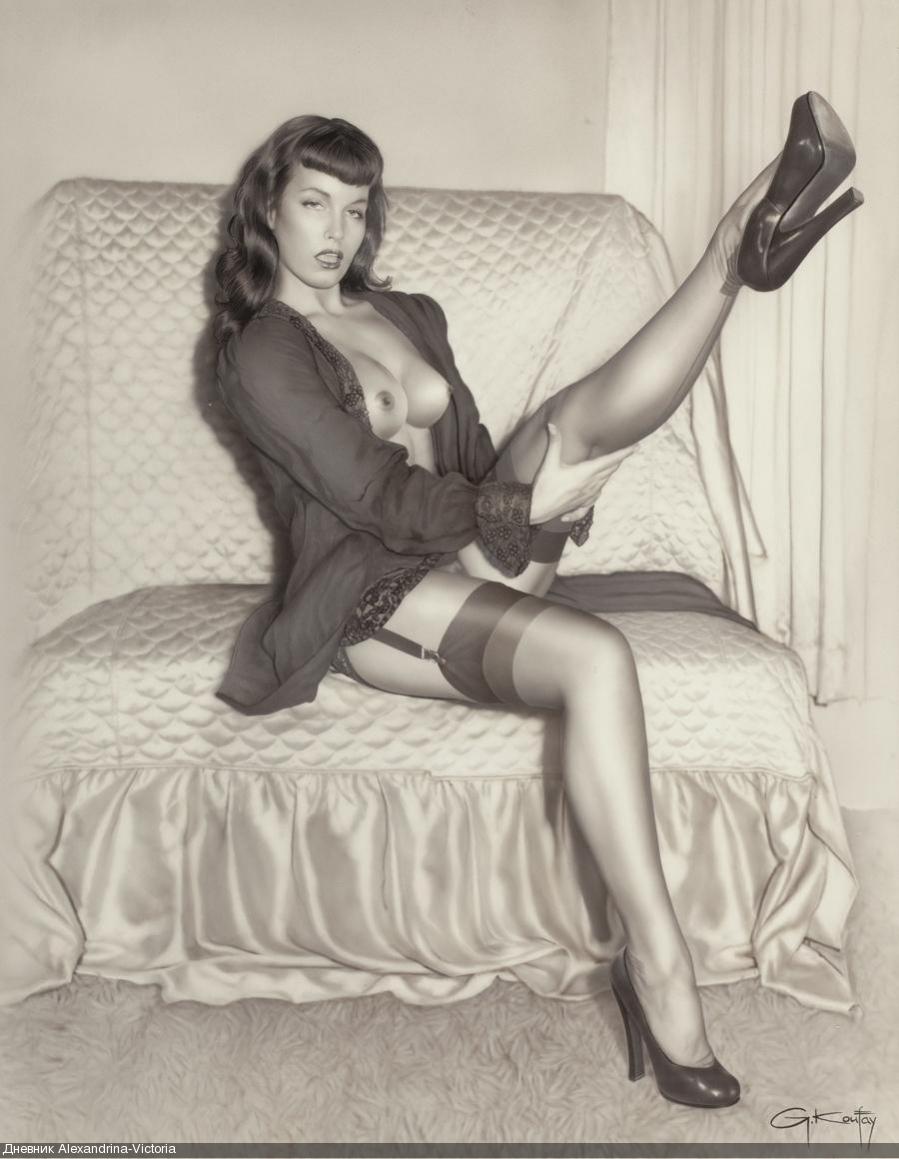 Сексуальная фотография (Bettie Page , 2012