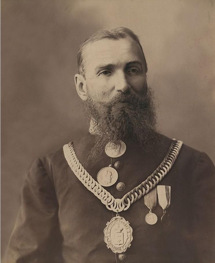 Портрет Мосеева, Горбатовского городского головы, члена государственной думы