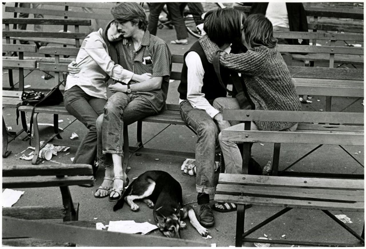 1967. Две пары и их собака