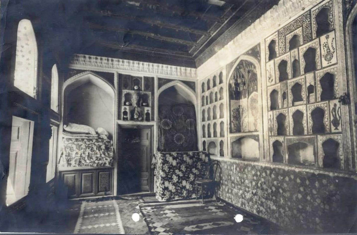 Мечеть. Внутренний вид