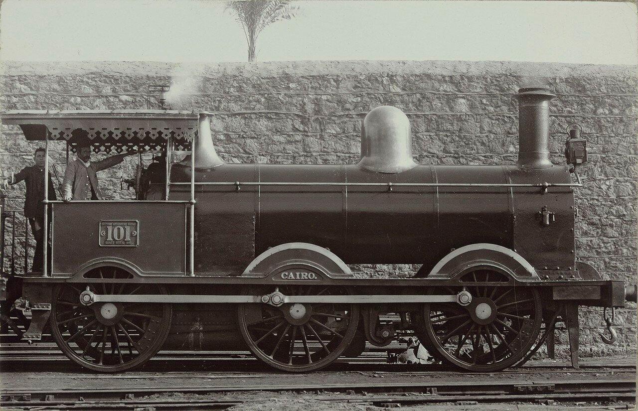 1887-1900. Локомотив №101«Каир»