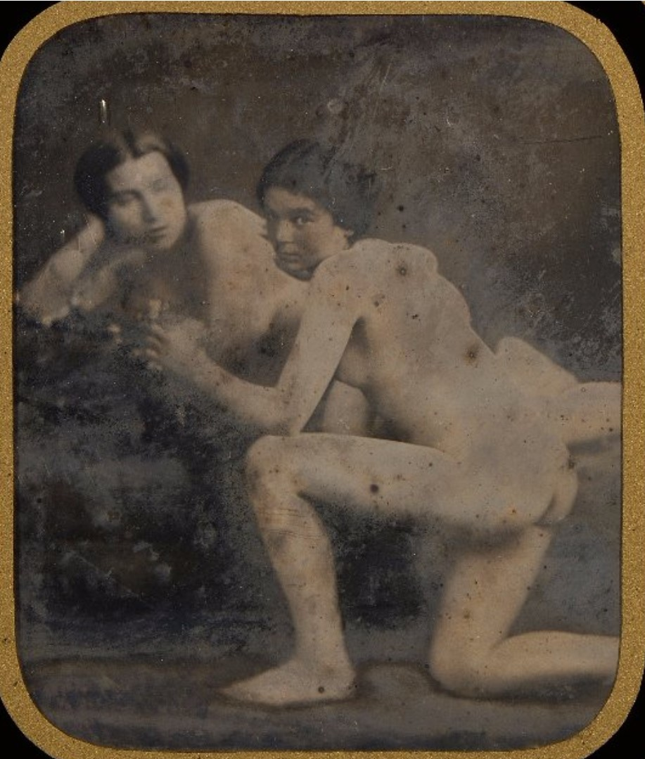 1850. Две обнаженные женщины