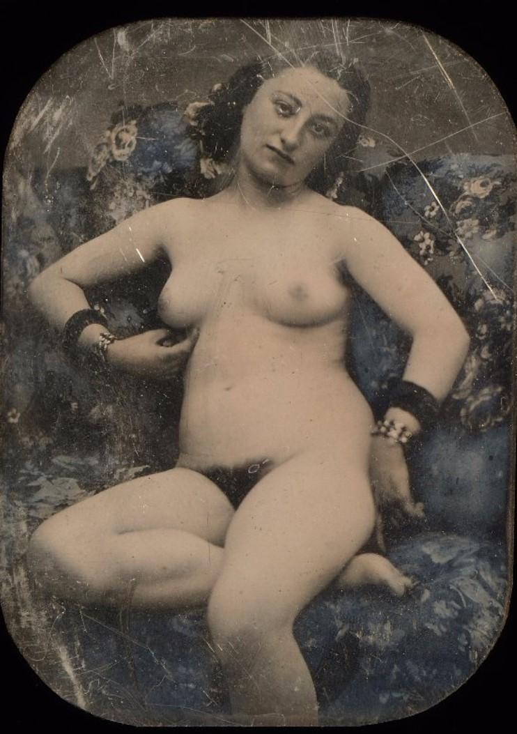 1850. Сидящая обнаженная