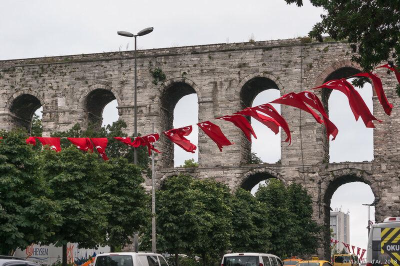 Акведук Валента (Bozdogan Kemeri) или Молчаливый призрак Константинополя