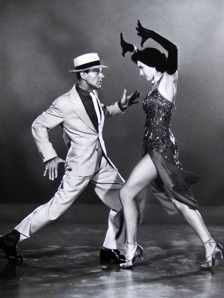 Astaire Charise The Band Wagon Фред Астер и Сид Чарисс в _Театральном Фургоне_ 1953, режиссёр Винсент Минелли