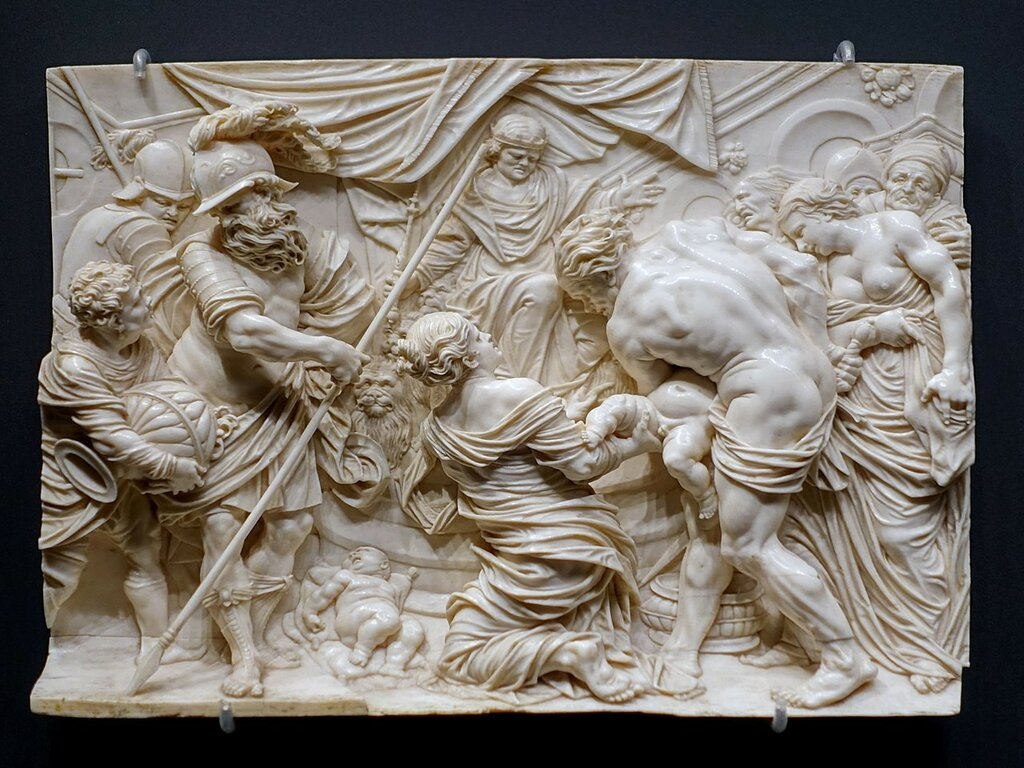 1280px-The_Judgment_of_Solomon,_by_the_Master_of_Sebastians_Martyrdom,_c._1667,_ivory_.jpg