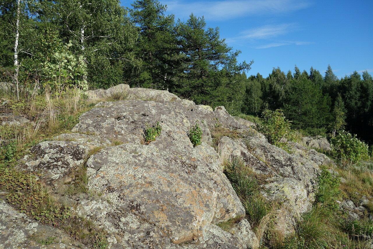 древние остатки вулканизма