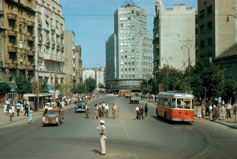 Белград, площадь Теразие, 1951 год