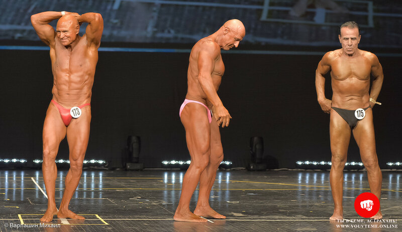 Категория: Мастера-мужчины ст.60 лет. Чемпионат и Первенство России по бодибилдингу 2017