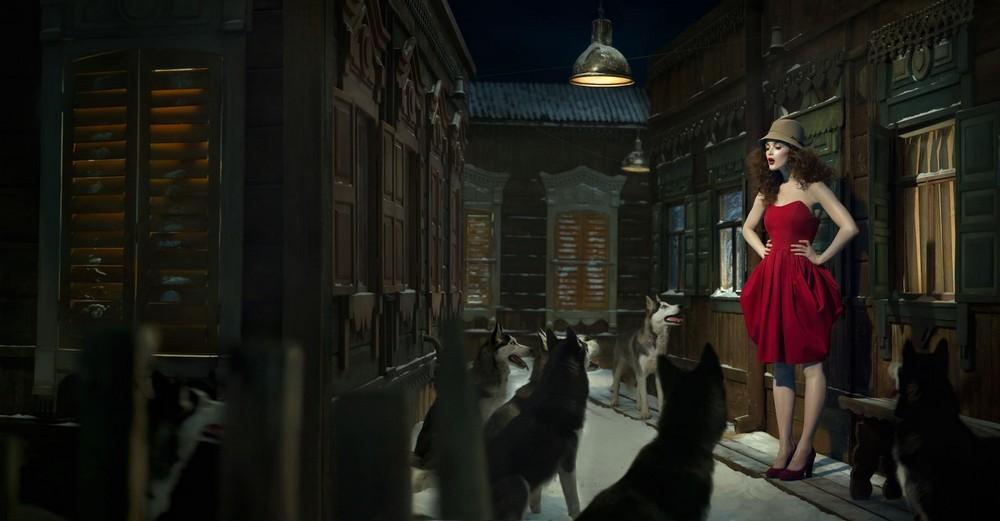 Сказочные сюжеты на снимках Эухенио Рекуэнко