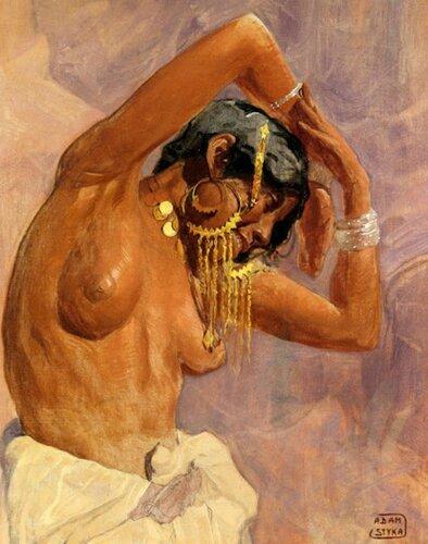 Adam Styka (1890 – 1959, Polish)  Harem Dancer