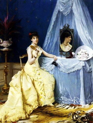 Густав Леонард де Йонге Gustave Leonard de Jonghe Туалет