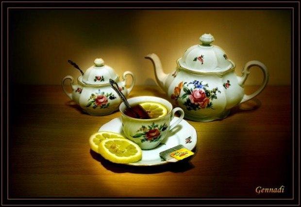Открытки. 15 декабря Международный день чая. Поздравляю!