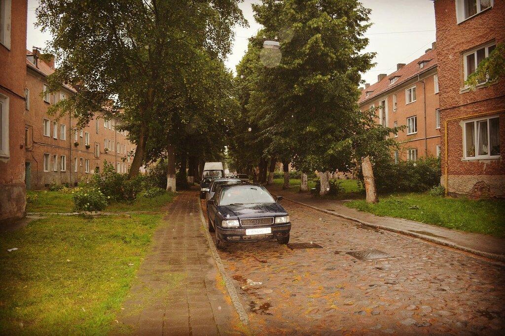 Черняховск (Инстербург): жилой квартал, стоявший у истоков планировки окраин городов Германии.