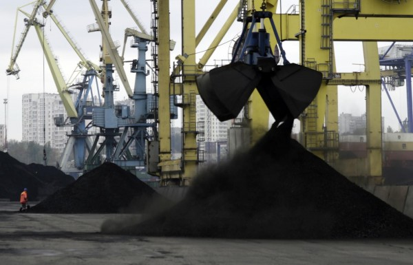 НаУкраину прибыла вторая партия угля изсша