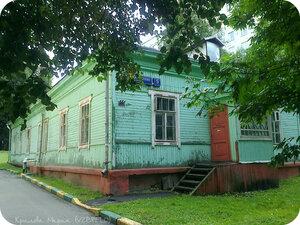 Москва, Кунцево, история, архитектура, деревянный дом, ул.Петра Алексеева
