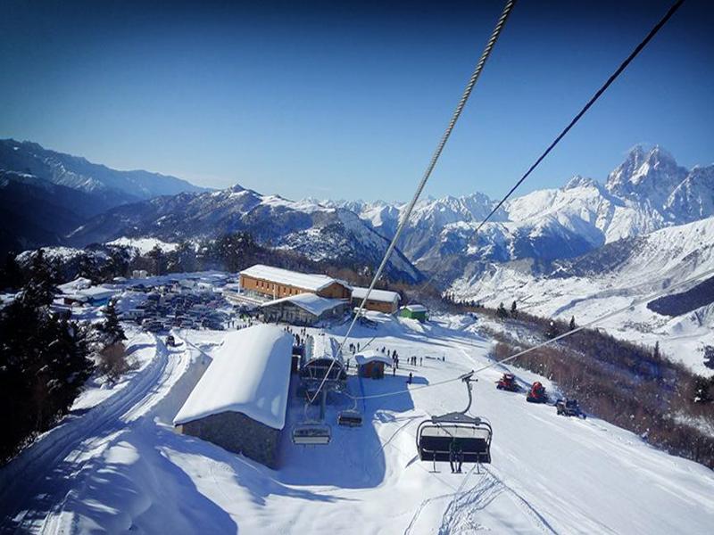 Тетнулди - горнолыжный курорт в Грузии, открытый в начале 2016 года