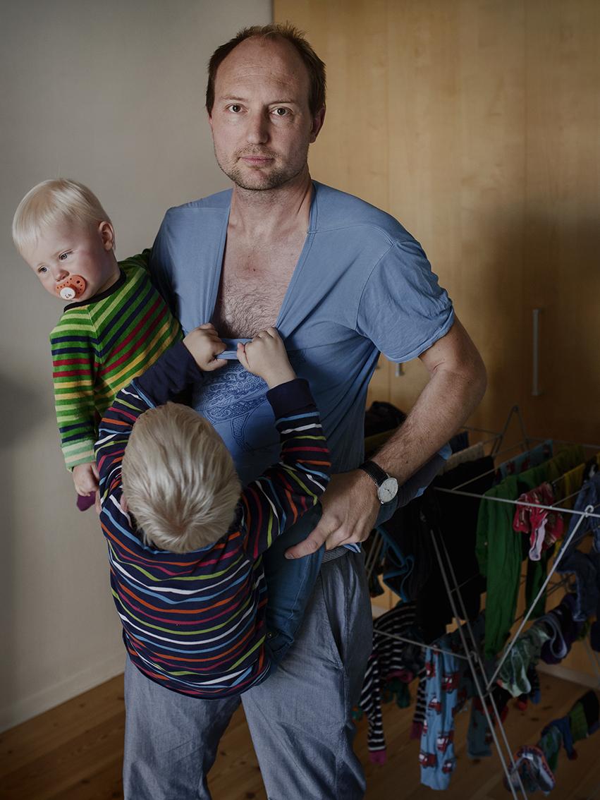 Альфред Нерхаген, 38 лет. По профессии — ландшафтный дизайнер. С каждым из своих детей находился в о