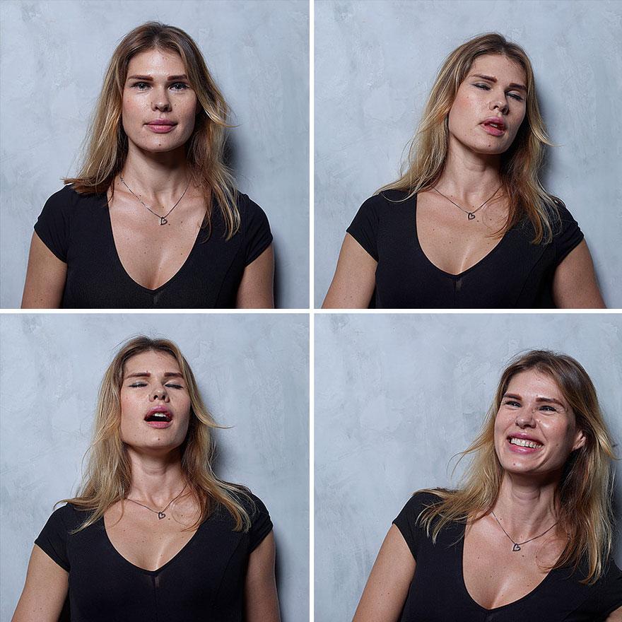 Бразильский фотограф снял женщин до, во время и после оргазма (22 фото)