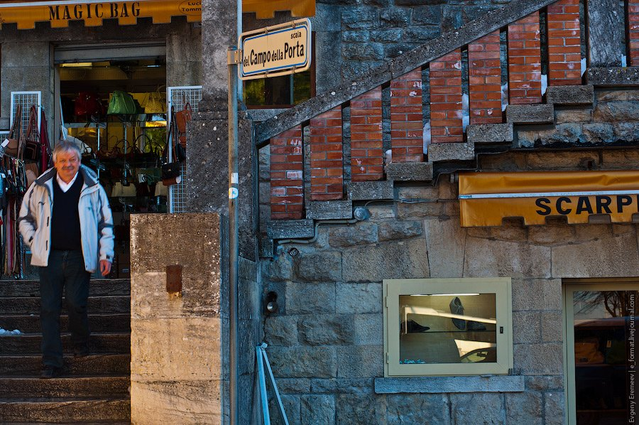 Несмотря на низкие налоги, цены в Сан-Марино, в основном, не ниже, чем в итальянских магазинах.
