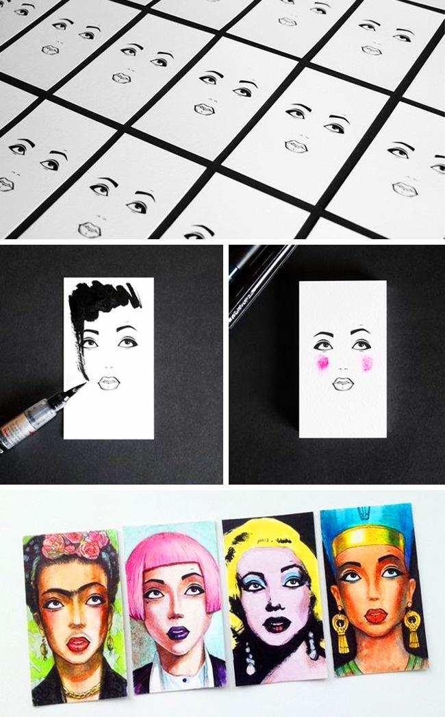 19примеров дизайна визиток для тех, кто привык выделяться вовсем (20 фото)