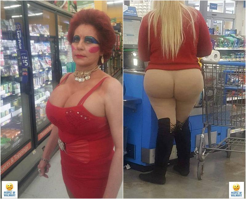 Фрики и чудики в магазинах Walmart (34 фото)