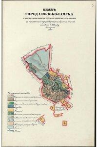 План города Волоколамска