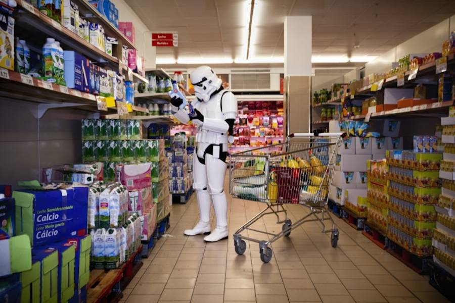 The Daily Life of Imperial Stormtroopers (16 pics)