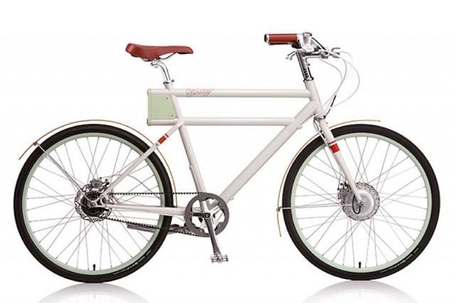 Retro-Look Electric Bicycle