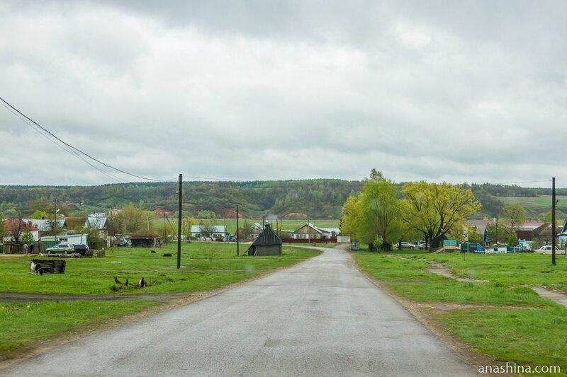 Дорога к Пешеланской шахте, Пешелань