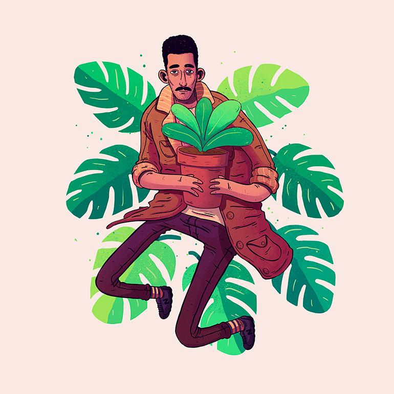 Bright Illustrations by Lucas Wakamatsu