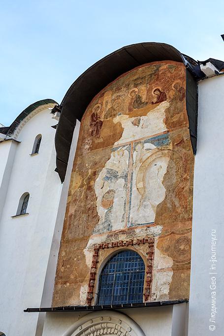собор святой софии в новгороде роспись