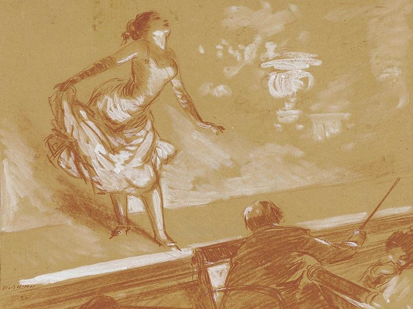 1908 Девушка на сцене (Girl on Stage).