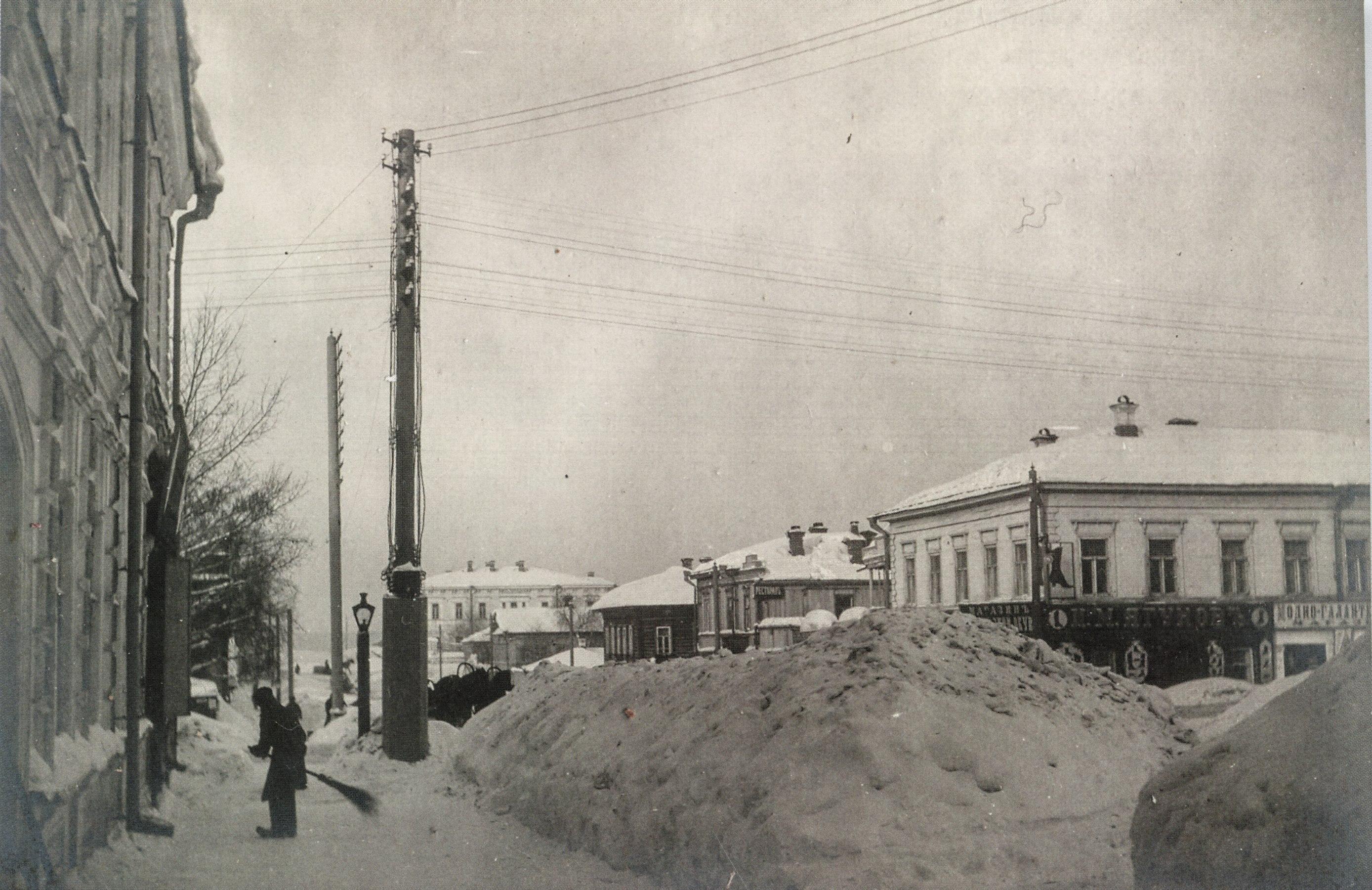 Оханская улица. 1901