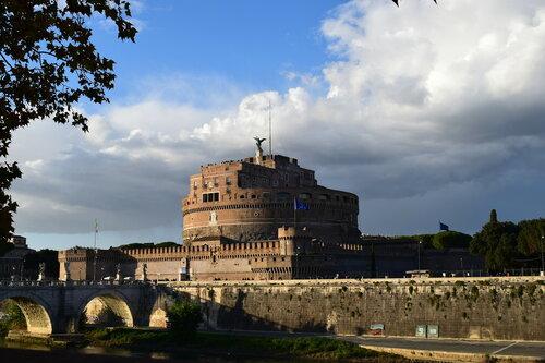 Италия. Рим.  Замок Святого Ангела