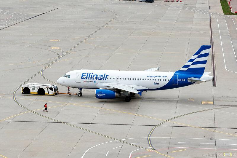 Airbus A319-133 (SX-EMB) Ellinair 0070_D705657