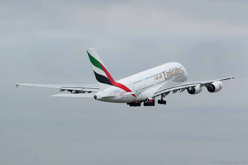 Airbus A380-861 (A6-EDC) Emirates 0450_D805731