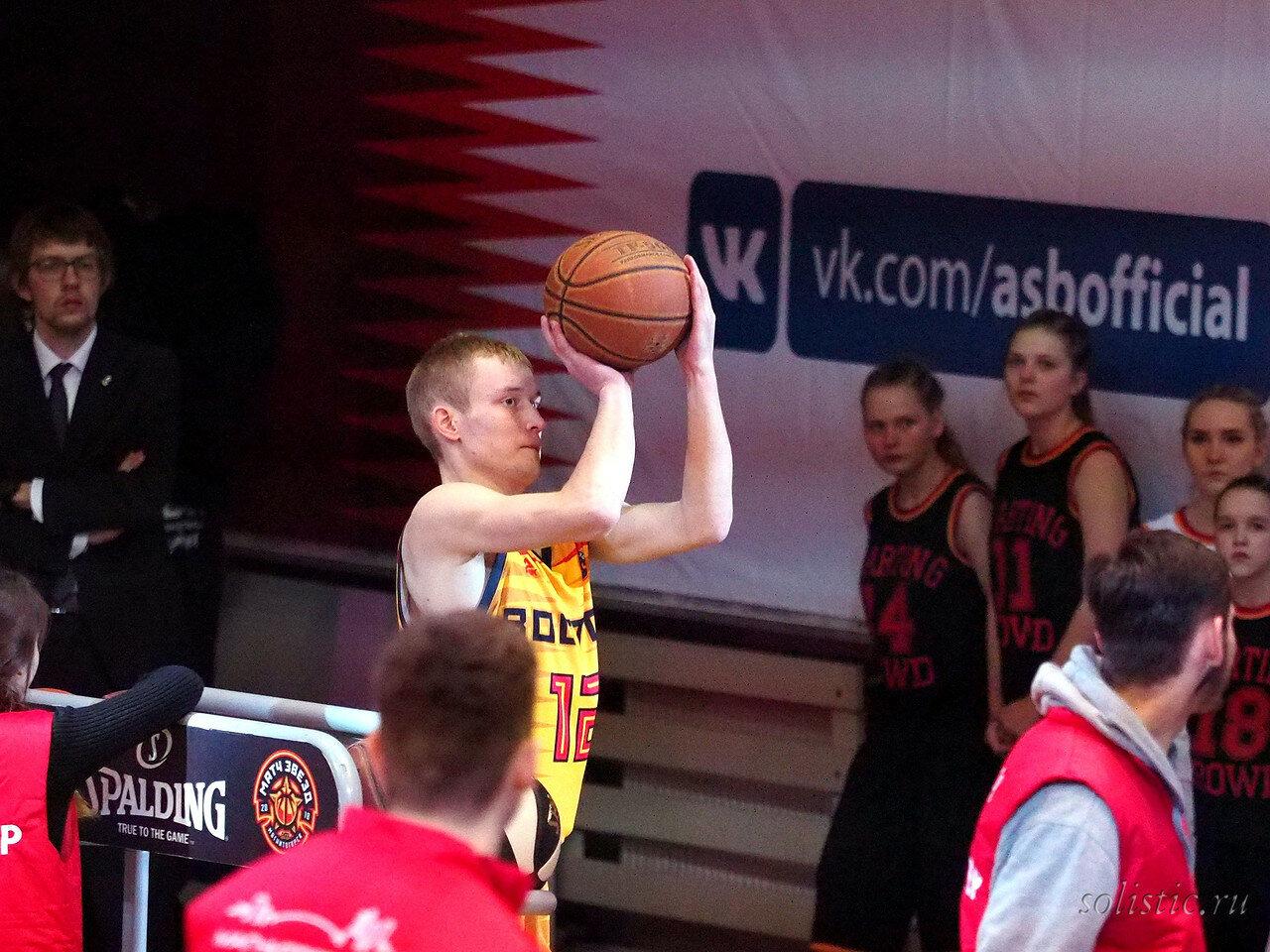 93 Матч звезд АСБ 2018 (ассоциации студенческого баскетбола)