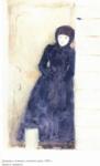Девушка стоящая у калитки - 0003.png