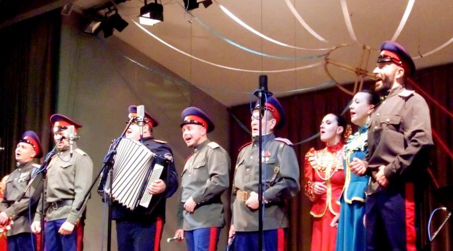 В Калуге ансамбль казачьей песни «Вольный ветер» открыл новую страницу своей истории