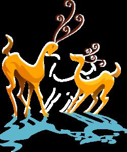 оленята