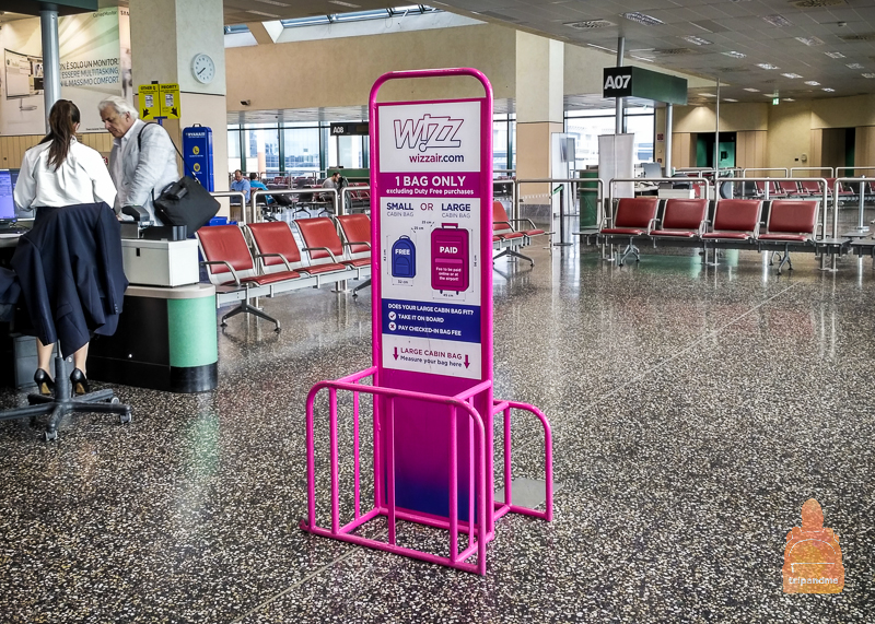 Ручную кладь на рейсах WizzAir можно провозить бесплатно