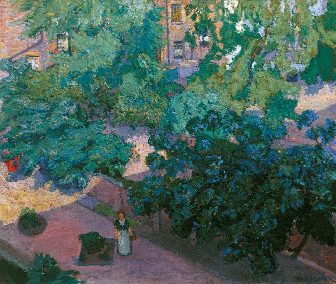 The Fig Tree c.1912 by Spencer Gore 1878-1914