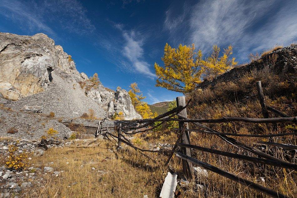 Зимой Байкал замерзает целиком, кроме небольшого участка в 15–20 км протяженностью находящего