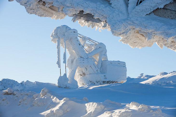 Малая Антарктида. Хибины (31 фото)