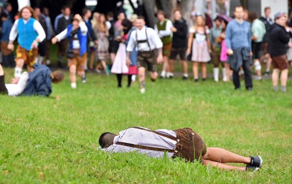 15. Октоберфест известен не только распитием пива, но и торжественным парадом, главные участники кот