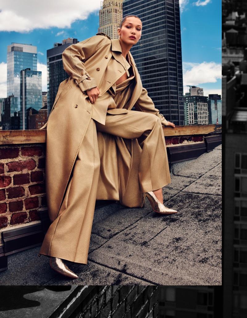 Белла Хадид в китайском Harper's Bazaar