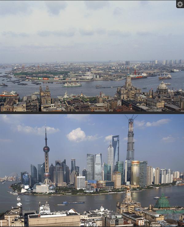 Однако после 30 лет спячки следующие три десятилетия станут для Шанхая эпохой просто фантастического
